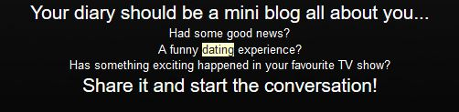 Read dating diaries